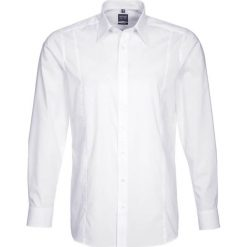 OLYMP Level Five SLIM FIT ITALIEN  Koszula biznesowa weiß. Szare koszule męskie slim marki Guess Jeans, l, z aplikacjami, z bawełny, z klasycznym kołnierzykiem, z długim rękawem. Za 209,00 zł.