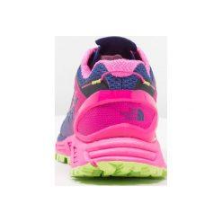 The North Face ULTRA ENDURANCE II  Obuwie do biegania Szlak sodalite black/glo pink. Czerwone buty do biegania damskie marki The North Face, z materiału. W wyprzedaży za 439,20 zł.