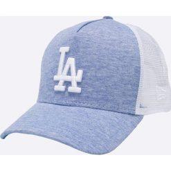 New Era - Czapka. Szare czapki z daszkiem męskie New Era, z bawełny. W wyprzedaży za 119,90 zł.