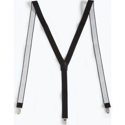 Finshley & Harding London - Szelki męskie, czarny. Czarne szelki męskie marki BIG STAR, z gumy. Za 79,95 zł.