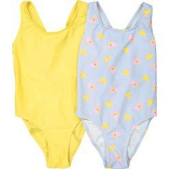 Stroje jednoczęściowe dziewczęce: 1-częściowy kostium kąpielowy 3-12 lat (2 sztuki)