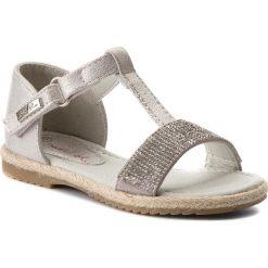 Sandały dziewczęce: Sandały NELLI BLU – CS17002-15 Srebrny