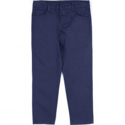 Spodnie. Niebieskie chinosy chłopięce ELEGANT JUNIOR BOY, z bawełny. Za 69,90 zł.