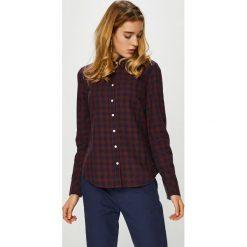 Mustang - Koszula. Niebieskie koszule damskie marki Mustang, z aplikacjami, z bawełny. Za 199,90 zł.
