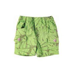 BOBOLI Boys Mini Bermudy szorty kolor zielony. Niebieskie spodenki chłopięce marki bonprix. Za 74,90 zł.