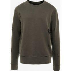 DRYKORN HARES Bluza olive. Brązowe bluzy męskie DRYKORN, m, z bawełny. Za 419,00 zł.