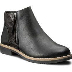 Botki JENNY FAIRY - LS4252-02 Czarny. Czarne buty zimowe damskie Jenny Fairy, z materiału, na obcasie. Za 119,99 zł.