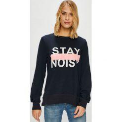 Noisy May - Bluza. Czarne bluzy rozpinane damskie Noisy May, l, z aplikacjami, z bawełny, bez kaptura. W wyprzedaży za 119,90 zł.