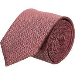 Krawaty męskie: krawat platinum brąz classic 200