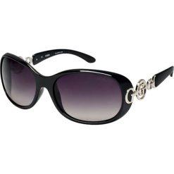 """Okulary przeciwsłoneczne damskie aviatory: Okulary przeciwsłoneczne """"7022 61 F BKL 35"""" w kolorze czarnym"""