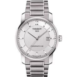 RABAT ZEGAREK TISSOT T-CLASSIC T087.407.44.037.00. Szare zegarki męskie TISSOT. W wyprzedaży za 2723,60 zł.