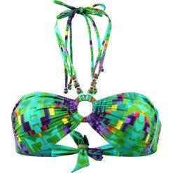 """Biustonosz bikini """"Aran"""" w kolorze turkusowo-zielonym. Niebieskie biustonosze Val d´Azur. W wyprzedaży za 173,95 zł."""
