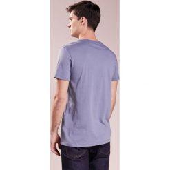 BOSS Orange TEW Tshirt z nadrukiem open blue. Niebieskie koszulki polo BOSS Orange, m, z nadrukiem, z bawełny. Za 289,00 zł.