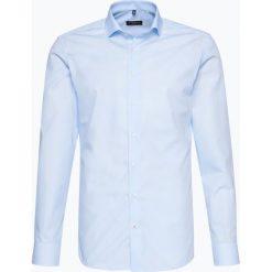 Eterna Slim Fit - Koszula męska niewymagająca prasowania, niebieski. Niebieskie koszule męskie non-iron Eterna Slim Fit, m, z bawełny. Za 229,95 zł.