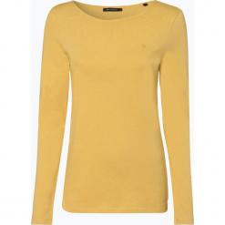 Marc O'Polo - Damska koszulka z długim rękawem, żółty. Żółte t-shirty damskie Marc O'Polo, s, z bawełny, polo. Za 129,95 zł.
