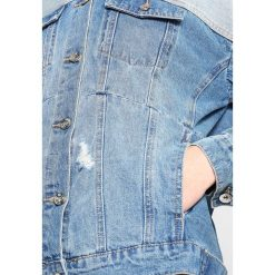 Bomberki damskie: Vero Moda Tall VMMOLLY BOXY CUTLINE JACKET  Kurtka jeansowa light blue denim