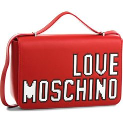 Torebka LOVE MOSCHINO - JC4066PP15LH0500 Rosso. Czerwone listonoszki damskie Love Moschino, ze skóry ekologicznej. W wyprzedaży za 429,00 zł.