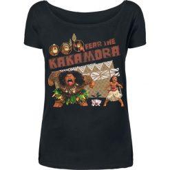 T-shirty damskie: Moana Fear The Kakamora Koszulka damska czarny