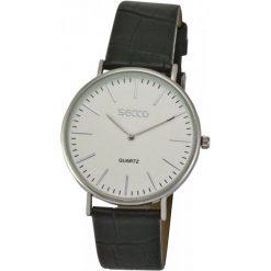 Secco Zegarek S a5509, 1-234. Brązowe zegarki męskie Secco. W wyprzedaży za 69,00 zł.