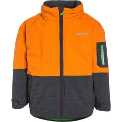 Regatta HYDRATE II 3IN1 UKUT Kurtka przeciwdeszczowa persimmon/silver grey. Brązowe kurtki chłopięce przeciwdeszczowe marki Regatta, z materiału, outdoorowe. W wyprzedaży za 199,50 zł.