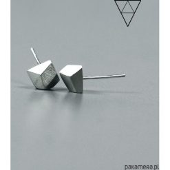 Kolczyki damskie: Minimalistyczne kolczyki wkrętki DIAMOND V