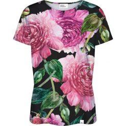 Colour Pleasure Koszulka damska CP-030 192 czarno-różowa r. XL/XXL. Czarne bluzki damskie marki Colour pleasure, xl. Za 70,35 zł.