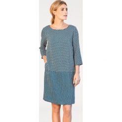 Odzież damska: Sukienka w kolorze niebiesko-jasnoróżowym