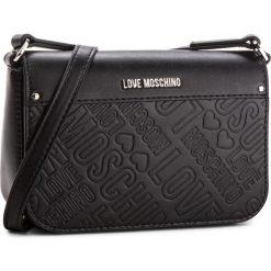 Torebka LOVE MOSCHINO - JC4028PP16LE0000 Nero. Czarne listonoszki damskie Love Moschino, ze skóry ekologicznej. W wyprzedaży za 499,00 zł.