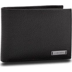 Duży Portfel Męski CALVIN KLEIN - Pebble W Plaque 5Cc K50K503938 001. Czarne portfele męskie marki Calvin Klein, ze skóry. Za 299,00 zł.