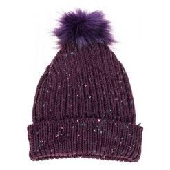 S.Oliver Czapka Damska, Burgund. Czerwone czapki zimowe damskie S.Oliver, na zimę. Za 69,00 zł.
