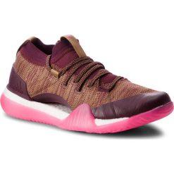 Buty adidas - PureBoost X Trainer 3.0 DA8968 Ngtred/Rawdes/Shopnk. Czerwone buty do biegania damskie marki Adidas, z materiału. W wyprzedaży za 419,00 zł.