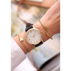 Biżuteria i zegarki: Czarno-Biały Zegarek Day-to-day