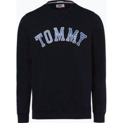 Tommy Jeans - Męska bluza nierozpinana, niebieski. Niebieskie bejsbolówki męskie Tommy Jeans, m, z nadrukiem, z bawełny. Za 349,95 zł.