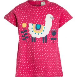 T-shirty damskie: Frugi KIDS SOPHIE APPLIQUE Tshirt z nadrukiem pink