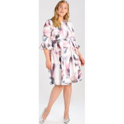 Sukienki hiszpanki: Little Mistress Curvy WATERCOLOUR PROM Sukienka letnia multicoloured