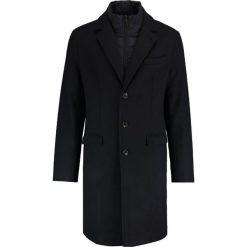 Pier One Płaszcz wełniany /Płaszcz klasyczny navy. Niebieskie płaszcze wełniane męskie marki Pier One, l, klasyczne. Za 549,00 zł.