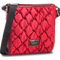 Torebka MONNARI - BAGB321-005  Burgundy. Czerwone listonoszki damskie Monnari, z materiału. W wyprzedaży za 169,00 zł.