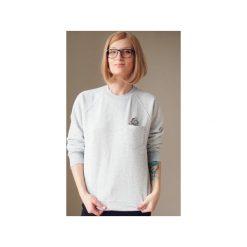 Bluza raglan kieszonka jednorożec holo. Szare bluzy damskie One mug a day, s, z aplikacjami, z bawełny. Za 139,00 zł.