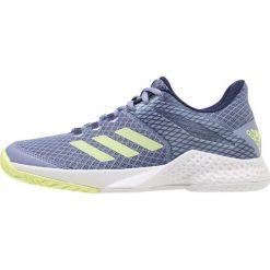 Adidas Performance ADIZERO CLUB  Obuwie multicourt blue. Brązowe buty sportowe damskie marki adidas Performance, z gumy. W wyprzedaży za 341,10 zł.