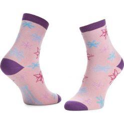 Skarpety Wysokie Dziecięce FREAK FEET - JLSNZ-PBL Różowy. Niebieskie skarpetki męskie marki Freak Feet, w kolorowe wzory, z bawełny. Za 14,99 zł.