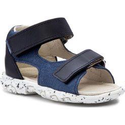 Sandały MRUGAŁA - Leo 1106-67 Jeans. Niebieskie sandały chłopięce Mrugała, z jeansu. W wyprzedaży za 99,00 zł.