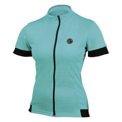 Etape Koszulka Rowerowa Donna Aqua S. Niebieskie bluzki sportowe damskie marki Etape, s. Za 129,00 zł.