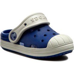 Klapki CROCS - Bump It Clog K 202282 Cerulean Blue/Oyster. Różowe klapki chłopięce marki Crocs, z materiału. W wyprzedaży za 139,00 zł.