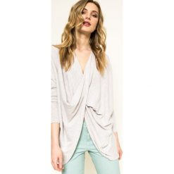Medicine - Sweter Fairground. Szare swetry klasyczne damskie marki MEDICINE, uniwersalny, z bawełny. W wyprzedaży za 39,90 zł.