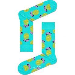 Happy Socks - Skarpetki Fruit Gift Box (4-pack). Pomarańczowe skarpetki damskie Happy Socks, z bawełny. W wyprzedaży za 99,90 zł.