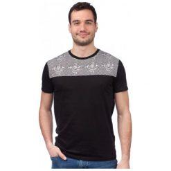 Brave Soul T-Shirt Męski Tristan S Czarny. Niebieskie t-shirty męskie marki Oakley, na lato, z bawełny, eleganckie. W wyprzedaży za 32,00 zł.
