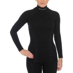 Bluzy rozpinane damskie: Bluza Brubeck Damska Wool Czarny (LS11930-CZARNY)