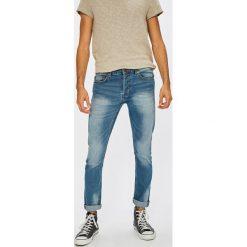 Only & Sons - Jeansy Loom Camp. Niebieskie jeansy męskie regular Only & Sons, z bawełny. W wyprzedaży za 79,90 zł.