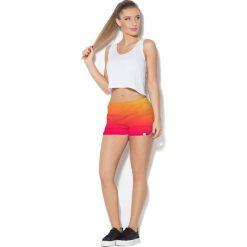 Colour Pleasure Spodnie damskie CP-020 71 malinowo-żółto-pomarańczowe r. XL-XXL. Brązowe spodnie sportowe damskie marki Colour pleasure, xl. Za 72,34 zł.