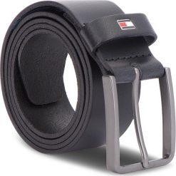 Pasek Męski TOMMY HILFIGER - Smooth Leather Belt AM0AM03483 85  002. Czarne paski męskie TOMMY HILFIGER, w paski, ze skóry. W wyprzedaży za 149,00 zł.